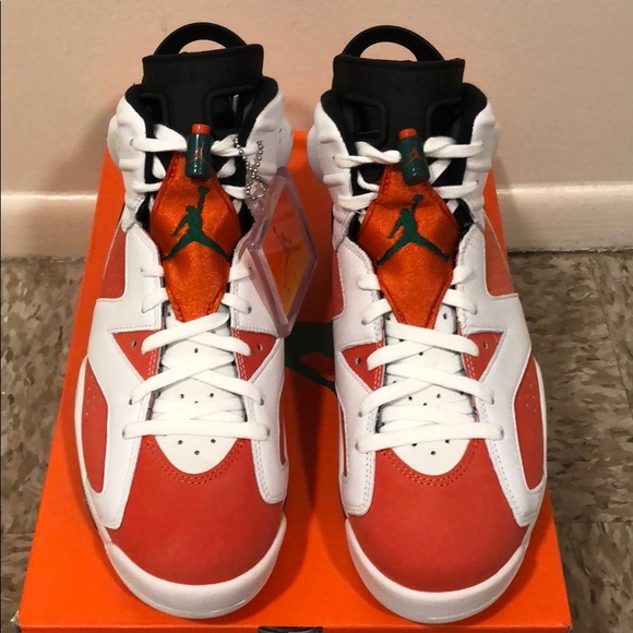 e2433b46da9265 Brand new pair of retro Jordan 6s Gatorade edition